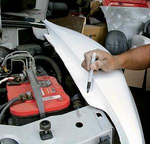 Fiberglass Fender Install