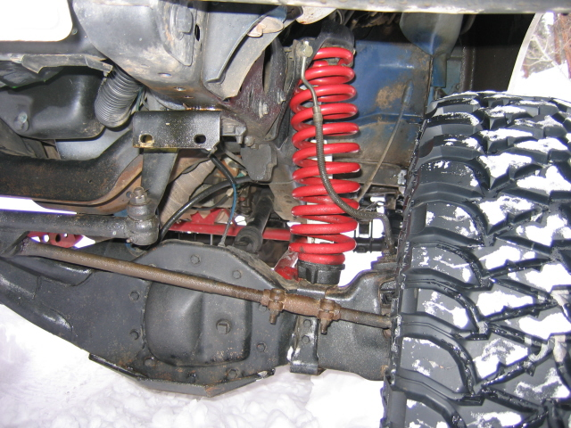Factory Coil Spring Spacers To Level Your Ranger : The