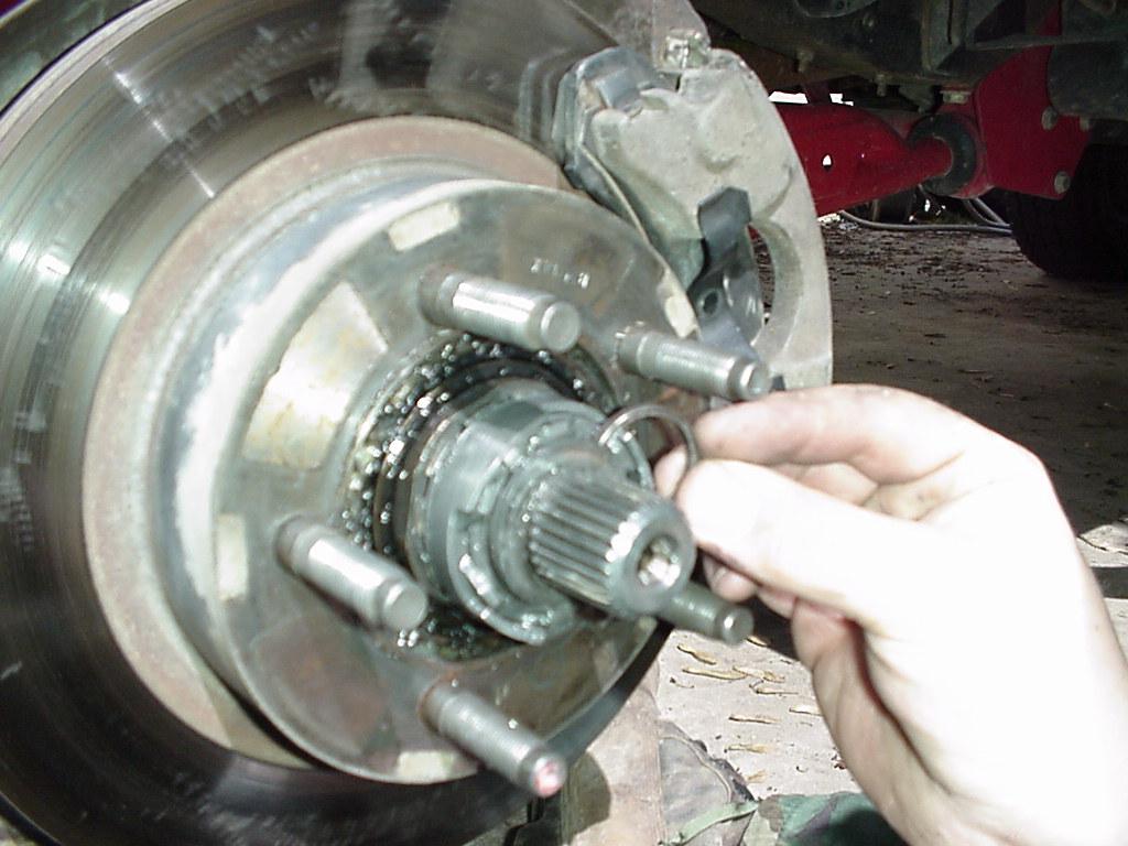 Ford auto to manual hub conversion