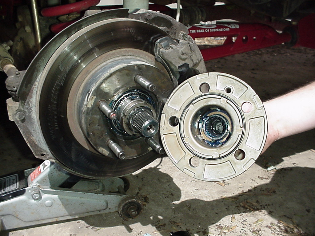 Automatic to manual hub conversion