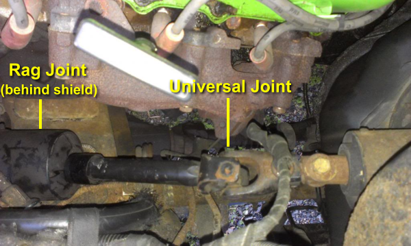 Ford Ranger Steering Box : Ford ranger intermediate steering shaft