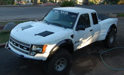 Ford Ranger Off Road Fiberglass Body Panels
