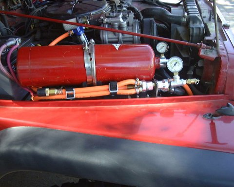 On Board Air Using A Ford A/C Compressor