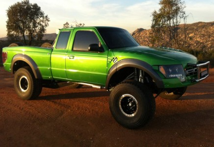 Ford ranger off road fiberglass body panels 1993 2012 ford ranger to raptor 1 piece conversion kit publicscrutiny Image collections