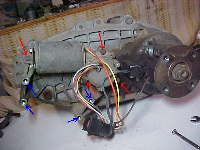 rebuilding a ford transfer case shift motor the ranger station 1994 Ford Ranger ABS Codes