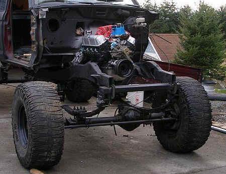 Ford Ranger Solid Axle Swap (SAS)