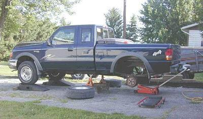 Ford Ranger Sway Bar Bushing Replacement