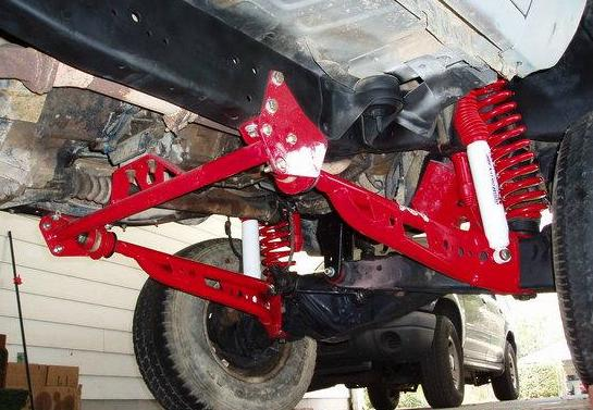 Skyjacker Ra135 Extended Radius Arms For The Ford Ranger