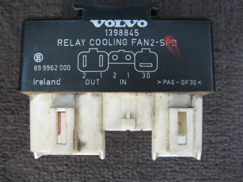 the fan relay is the heart of the system because it controls whether the fan  runs on high or low