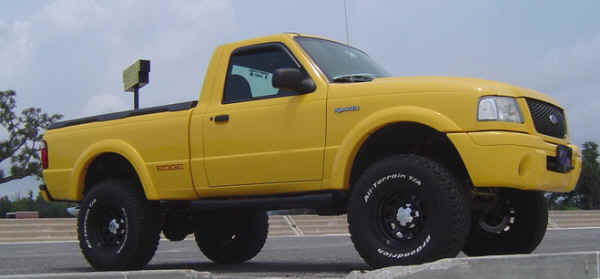 1993-1997 Ford Ranger - 8-Inch Suspension Lift with 1-Inch coil Bucket Lift,