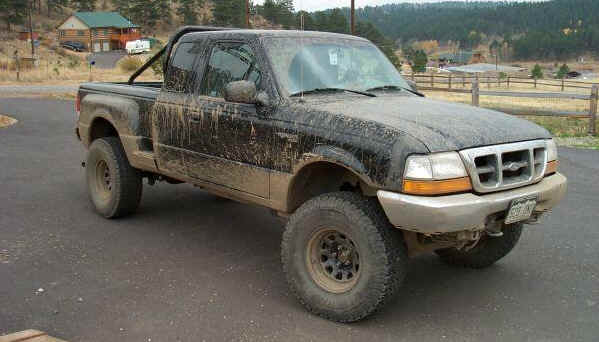 Ford Ranger Bronco Ii Tire Fitment