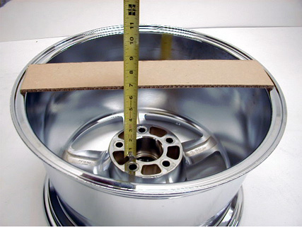 Ford Ranger Lug Pattern >> The Ford Ranger/Bronco II Wheel Fitment Guide To Measuring Wheels