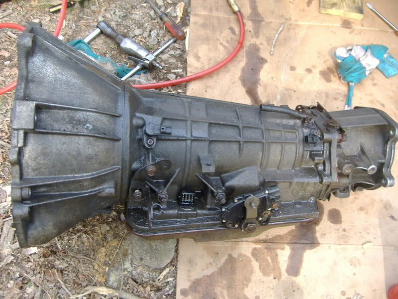 ford ranger 4x4 transmission replacement