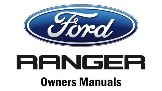 manuals the ranger station rh therangerstation com owners manual 2004 ford ranger 2002 Ford Ranger Edge Manual
