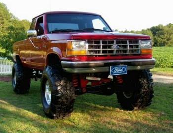 Bradley's Old Red Ford Ranger