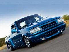 Salvatore Bruno's 1994 'Sit N Low' Ford Ranger Splash