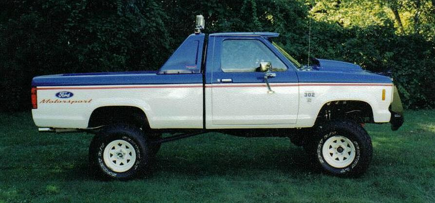 This is the original TRS-1 Ford Ranger built by The Ranger Station creator  Jim Oaks. 320ee57bd85