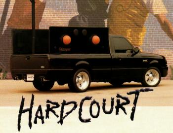 Ford Ranger Hard Court Concept