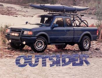 Ford Ranger Outsider Concept