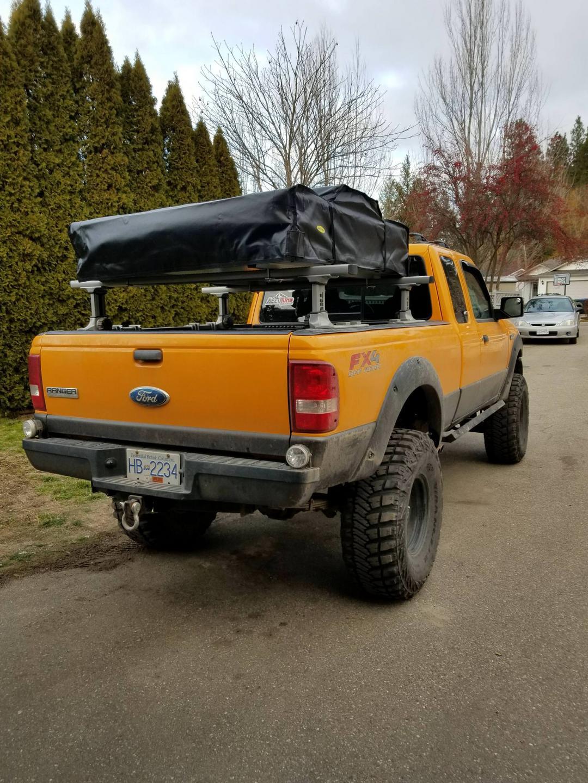 ford ranger thule racks