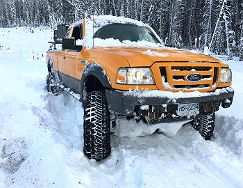 Mr Bossley's 2008 Ford Ranger Overlander