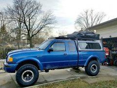 2001 Ford Ranger 4×4 Overlander
