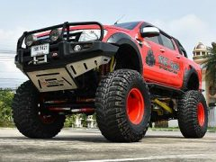 Ford Ranger T6 & 46-Inch Tires