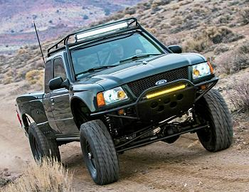 "2002 Ford Ranger AKA ""The Spicy Pickle"""