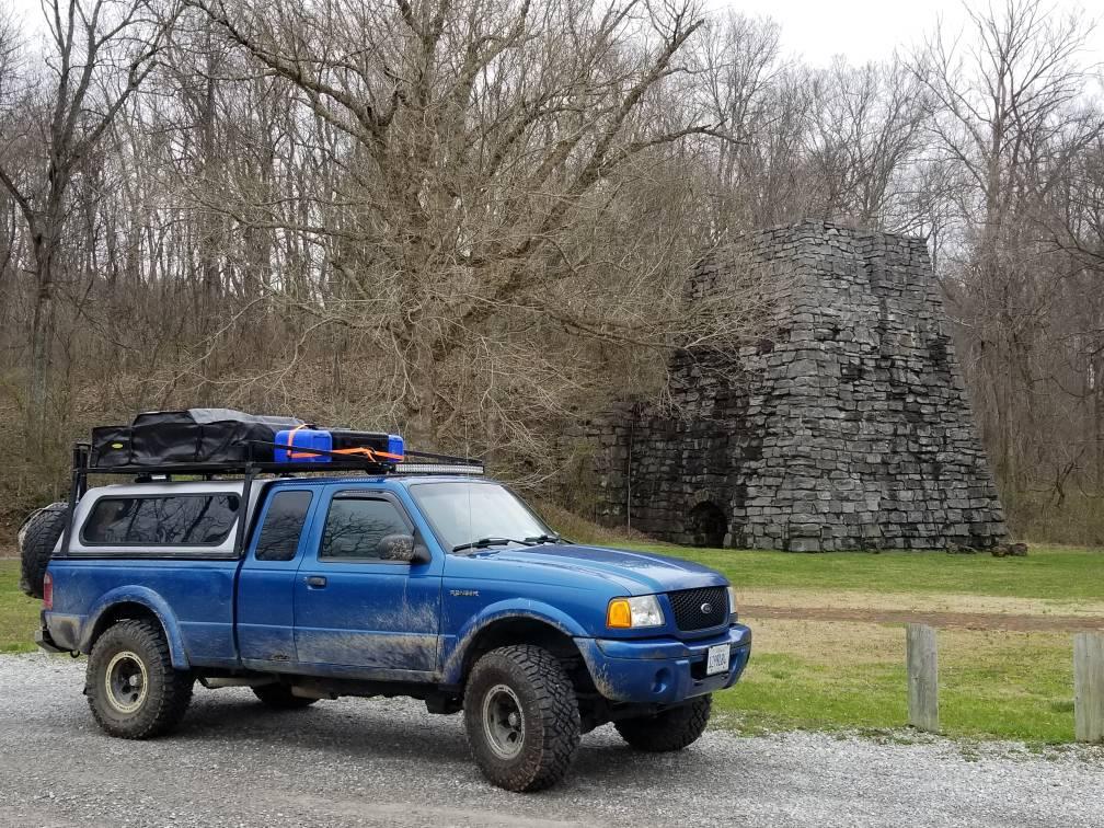 ford ranger  overlander  ranger station