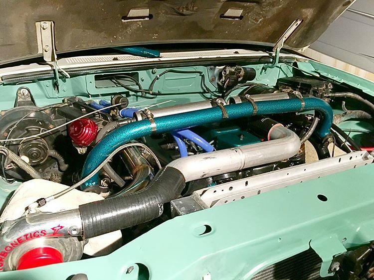 Garagefab Diesel Ford Ranger Engine
