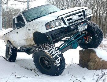 Garagefabs' 3.9L Cummins Ford Ranger