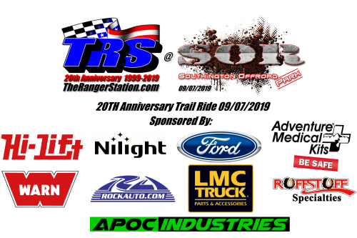 TRS 20th Anniversary Trail Ride