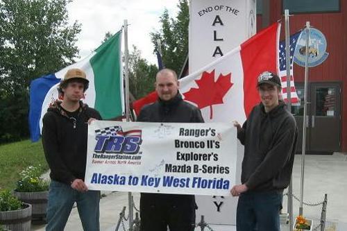 Banner Across North America (Alaska-Florida) Part-I