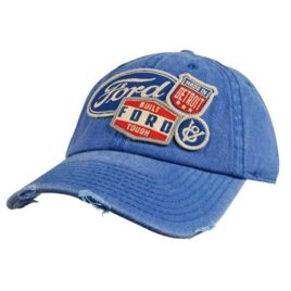 Ford – Mens Iconic Patch Distressed Hat