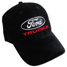 Ford Trucks Ball Cap in Black
