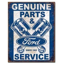 Ford Genuine Parts and Service Pistons Sign