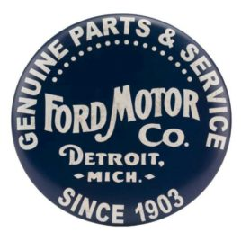 Ford Motor Genuine Parts & Service Since 1903 Sign