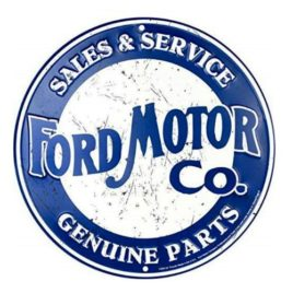 Ford Motor Company Sales & Service Genuine Parts Sign