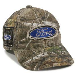 Ford Built Tough Logo Realtree Edge Camo Hat