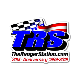 TRS 20th Anniversary Vinyl Decal
