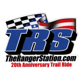 TRS 20th Anniversary Trail Ride Decal (Wrong Spacing)