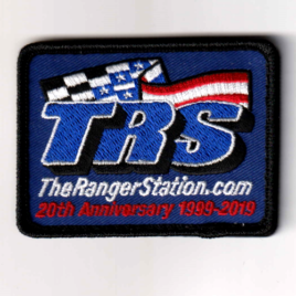 TRS 20th Anniversary Velcro Patch