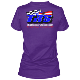 TRS Ladies Purple T-Shirt