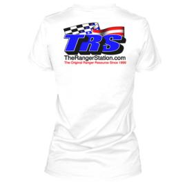 TRS Ladies White T-Shirt
