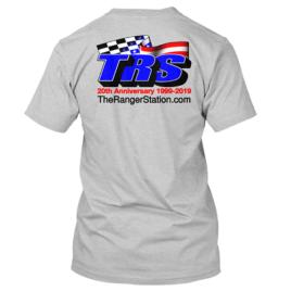 TRS 20th Anniversary Light Gray T-Shirt