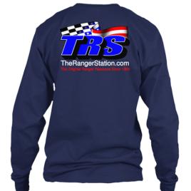 TRS Navy Blue Long Sleeve T-Shirt