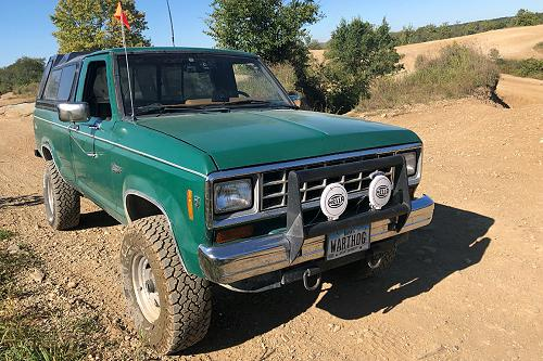 Justin Russell's 1985 Ford Ranger 4×4 'Warthog'